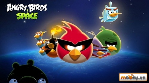 Top 50 game Android hay nhất năm 2014 (P1)  Angry Birds Space