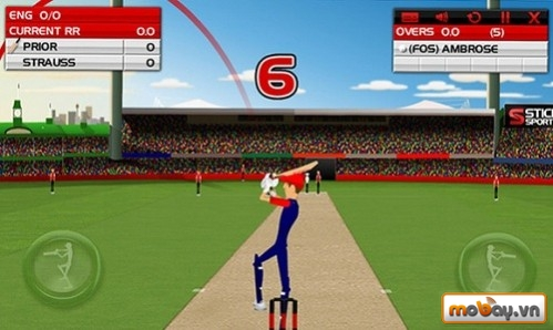 Top 50 game Android hay nhất năm 2014 (P1) Stick Cricket