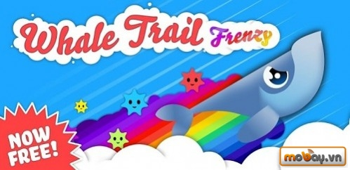 Top 50 game Android hay nhất năm 2014 (P1) Whale Trail Frenzy